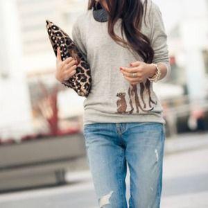 Madewell meerkat sweater