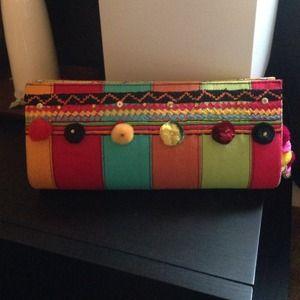 Handbags - 💖Handcrafted Clutch Multicolor💖