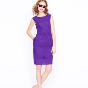 J. Crew Dresses & Skirts - Jcrew Lucille dress in royal blue/purple