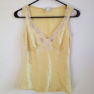 Banana Republic Yellow Tank top