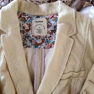 Anthropologie Allihop Natty Blazer!