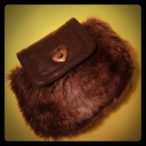 $10 BLACK FRIDAY SALE! Cute Faux Fur Clutch