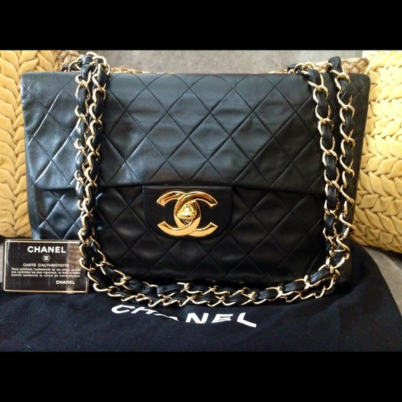 508a33b1bef7 CHANEL Handbags - Authentic Vintage Chanel Jumbo Maxi!