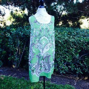 Paisley Shift Dress by INC