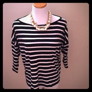 French Connection Striped Top!