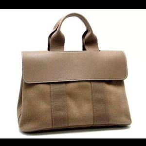 hermes handbags prices - 40% off Hermes Handbags - Authentic Hermes Valparaiso pm canvas ...