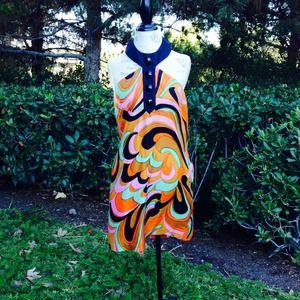 Silk Halter Dress by Milly