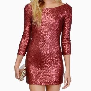 See Me Sequin Dress