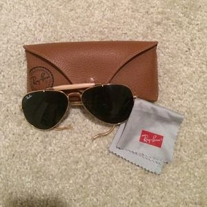 Ray-Ban Accessories - Authentic Rayban Aviators