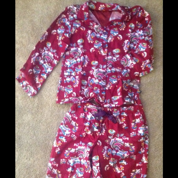 0dff0846a3cd Nick and Nora Intimates & Sleepwear   Nwot Paisley Flannel Pajamas ...