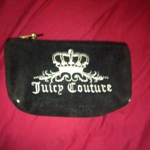 Juicy couture pouch / make up / jewelry bag