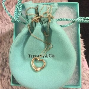 Tiffany &Co. Elsa Peretti® Open Heart Pendant