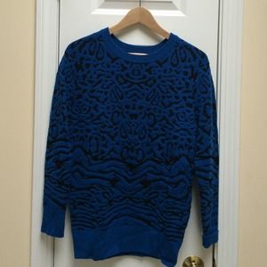 Torn by Ronny Kobo Sweaters - Torn by Ronny Kobo Leopard Sweater