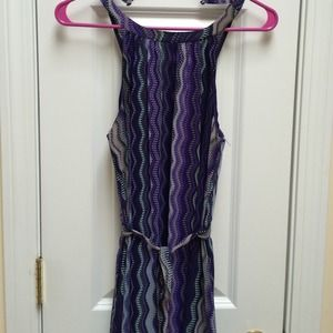Target Dresses & Skirts - Blue & Purple Chevron Maxi Dress