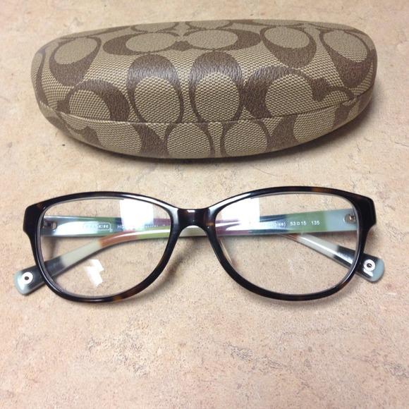 75% off Coach Accessories - Coach eyeglass frames from ...