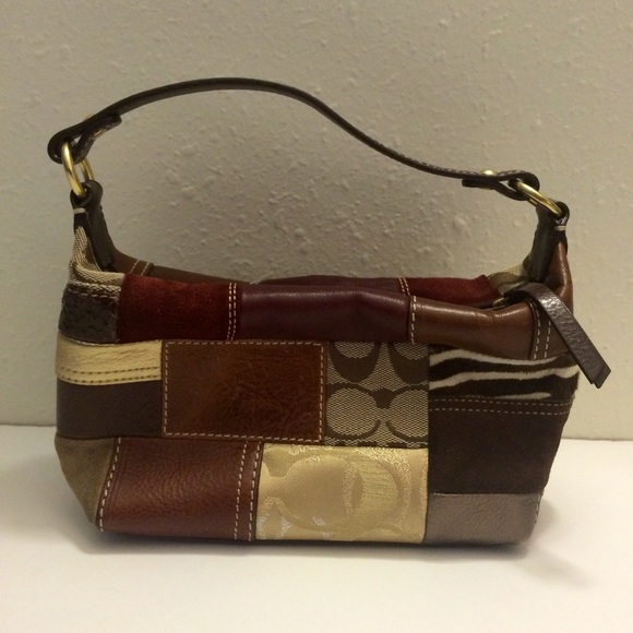 Coach Bags Patchwork Small Hand Purse F0771f40283 Poshmark