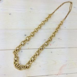 Gold Chain Long Necklace