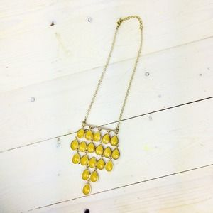 Jewelry - Yellow Bib Necklace