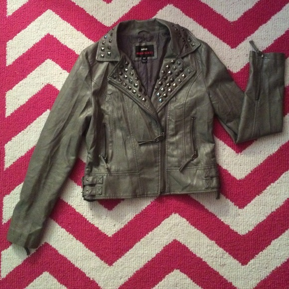 Miss sixty faux leather jacket