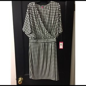 Vince Camuto Dresses & Skirts - NWT Vince Camuto Houndstooth Dress