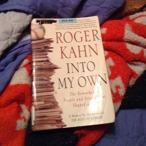 Roger Kahn into my own