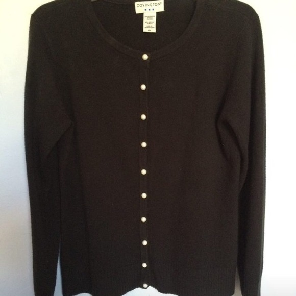Covington - COVINGTON BLACK BUTTON UP SWEATER M🎄🎁📬🎅🌴 from ...