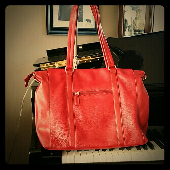 59% off Wilsons Leather Handbags - REDUCED!! WILSON LEATHER RED ...