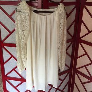 TopShop Ivory Dress Size 6 NWT