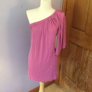 Dresses & Skirts - One sleeve pink dress