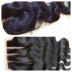 Accessories - 100% 14 inch lace Closure Brazilian body wave