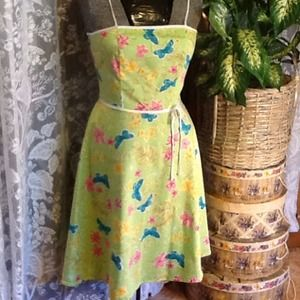 Vintage Pretty, Colorful Sun Dress, size 9/10