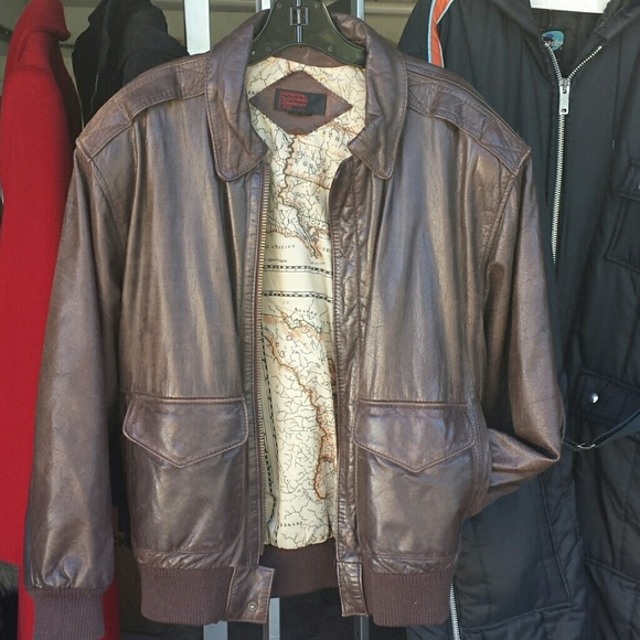 4422f1735ed General Clothing Company LTD Jackets   Blazers - Incredible leather bomber  jacket