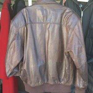 7e54b269c29 General Clothing Company LTD Jackets   Coats - Incredible leather bomber  jacket