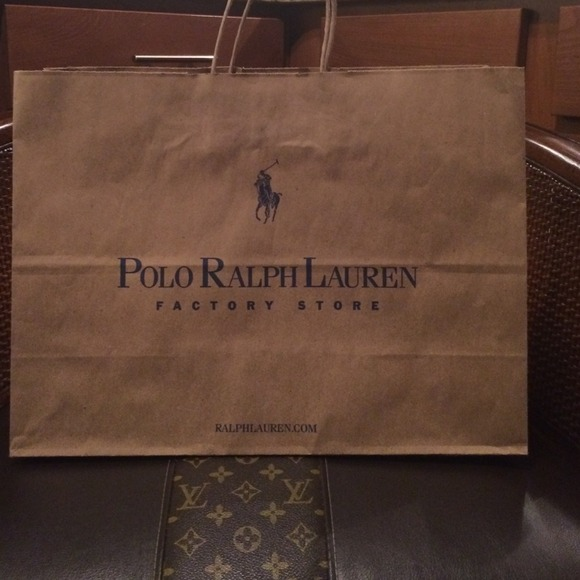 Polo by Ralph Lauren - Polo Ralph Lauren shopping bag from Erika's ...