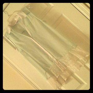 🐦SALE Last chance🐦 Candies Mint lace HighLow Top