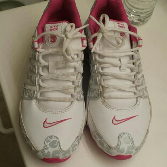 Nike Shox Pink Leopard