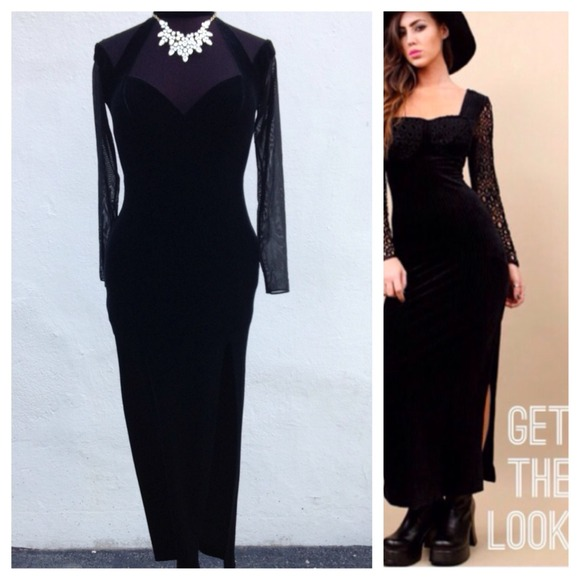 86% off Vintage Dresses &amp- Skirts - 🌷1-Day Sale: Vintage velvet ...