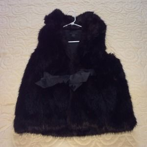 Steve Madden Faux Fur Vest (Small)