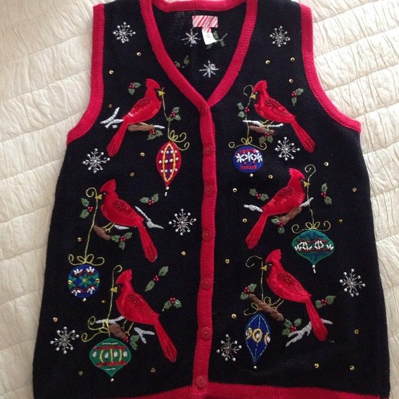 kmart - Ugly Christmas sweater vest from Holly's closet on Poshmark