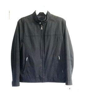 Men's moto jacket style coat