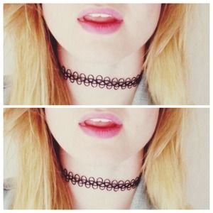 💜 2 90's Tattoo Choker💜