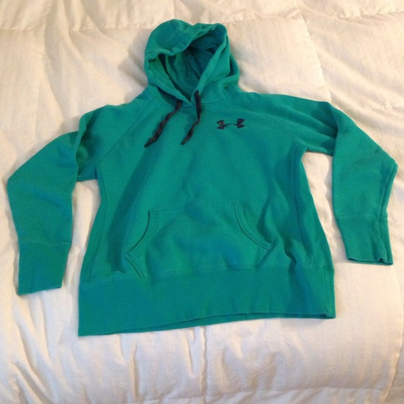 Under armour teal under armour hoodie from taylor 39 s for Teal under armour shirt