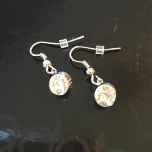 "New ""Diamond"" Stud Dangling Earrings"