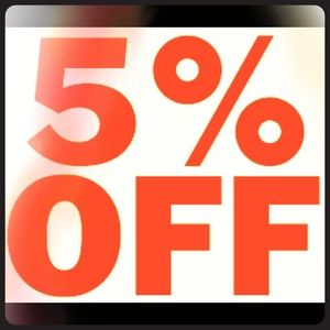 Buy any two items and get 5% off!!!