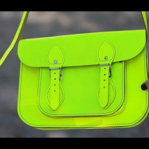 The Cambridge Satchel Company Bags - Neon Yellow Cambridge Satchel