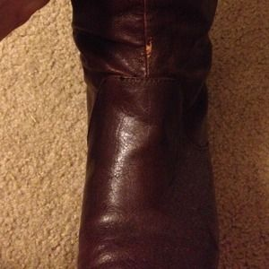 01ae4650a3d1 Shoes - SOLD ON VINTED. Brown Over-the-Knee Boots