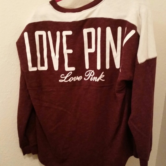 Victoria's Secret - Reduced Love pink Oversized sweater from ...