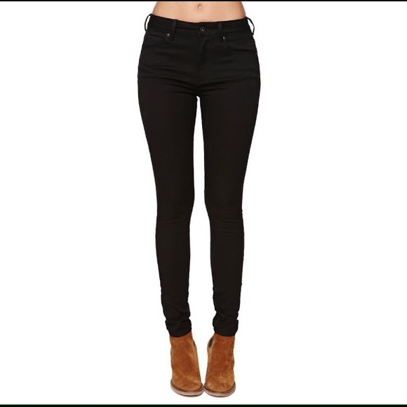 87% off Bullhead Denim - Bullhead black denim leggings from
