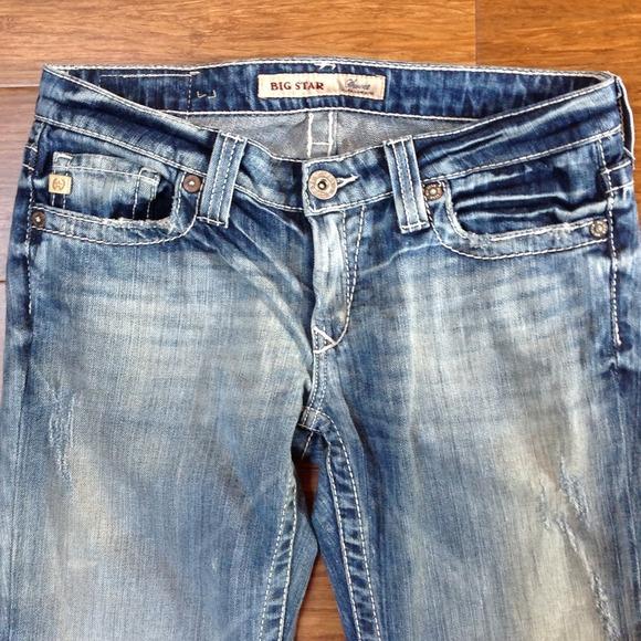 77% off Big Star Denim - Big Star sweet ultra low rise jeans looks ...