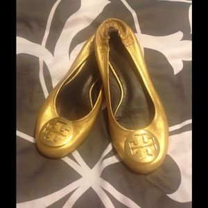 saleTory Burch Reva flats